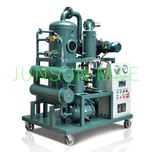 Transformer oil purification machine