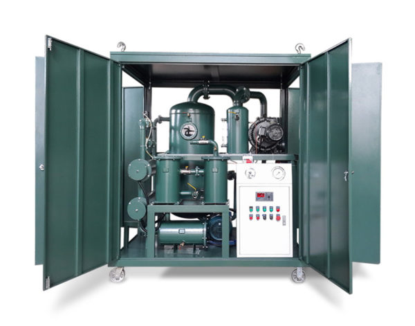 Enclosed Type Twin-Stage Vacuum Transformer Oil Purifier